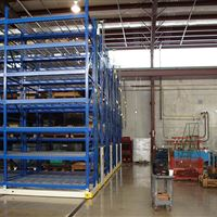 ActivRAC Mobilized Shelving at Framo Pumps, Houston, TX