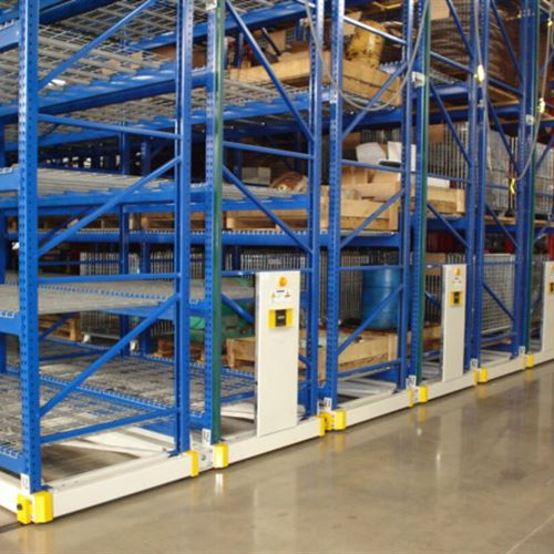 ActivRAC Mobilized Shelving at Framo Pumps | Houston, TX