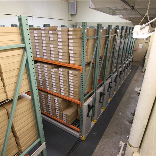 University of Washington Otolith Storage on ActivRAC