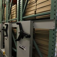 Warehouse Mobilized Shelving for School of Aquatics and Fishery Sciences