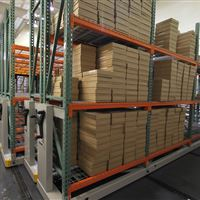 University of Washington Warehouse Racking on Mobile Carriages