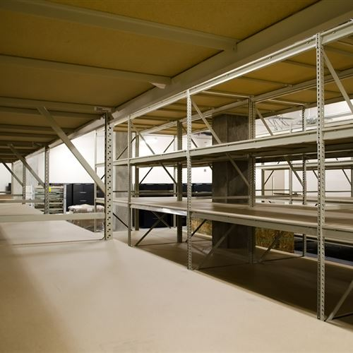 Wide Span Shelving at Guildford County Jail