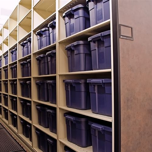 High Density Storage for Inmate Property