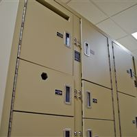 Evidence Locker Storage at Guilford County Detention Center