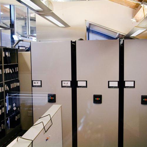 Legal File Shelving on High Density Mobile