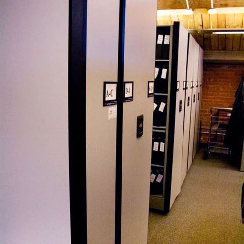 Law Firm Powered Mobile Shelving