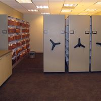 Legal Document Shelving on Compact Shelving