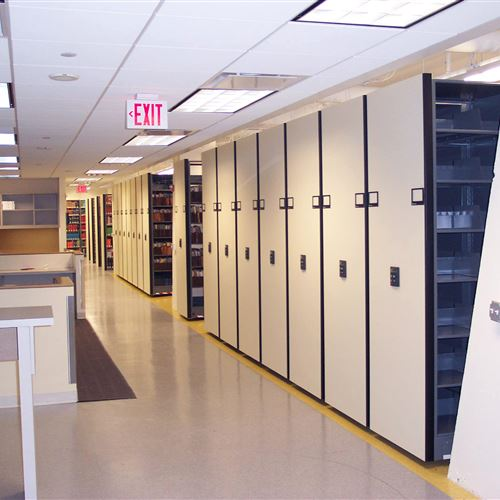 High-Density Mobile Law Firm File Storage Systems
