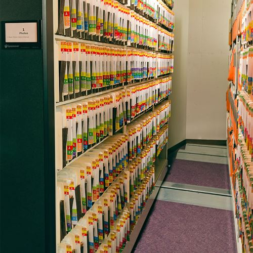 Pro Football Hall of Fame File Storage