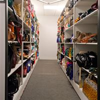 Retail Sample and Accessory Storage