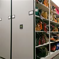 Powered High Density Mobile Storage at Cato Corporation