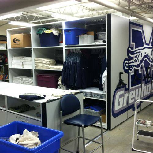 Mobile System storing Athletic Equipment