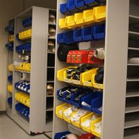 Parts and Accessories Storage for Canadian Football League Team