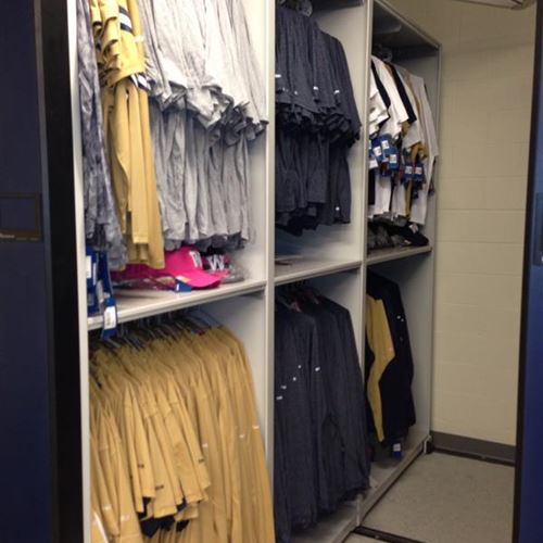 Winnipeg Blue Bomber Football Team Doubles Their Athletic Equipment Storage Capacity