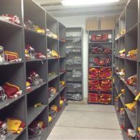 Helmet Storage at Iowa State University