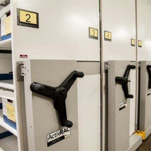 Records Storage Solved with ActivRAC 7M