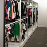 Garment Rails for Apparel Storage