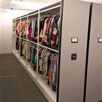 High-Density System with Garment Rails