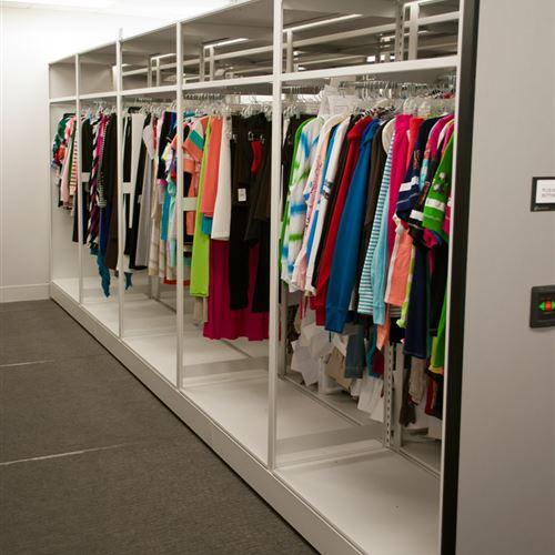 Retail Garment Storage on Eclipse Mobile Storage