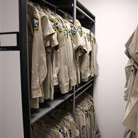 Cabarrus County Jail Uniform Storage