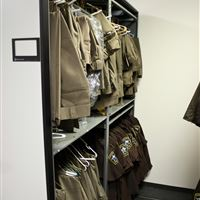 Public Safety Uniform Storage at Cabarrus County Jail