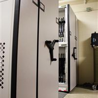High Density Secure Weapons Storage