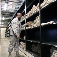 Military Uniform Storage at MacDill Air Force Base