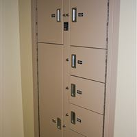 Evidence Storage Lockers at Bal Harbor Police Department