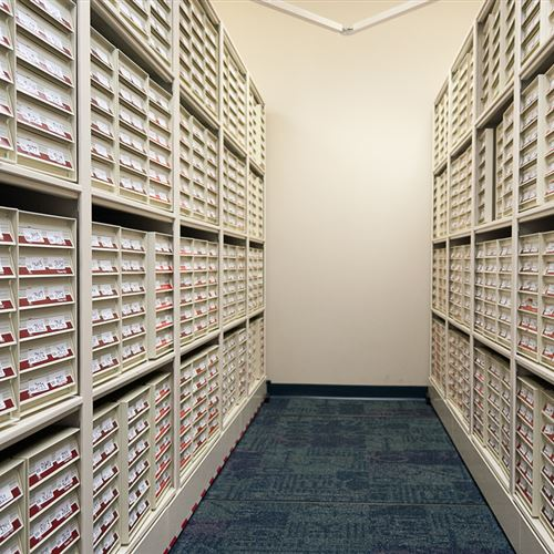 High Density Pathology Slide Storage