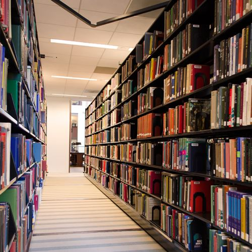 Mobile Shelving for Library Book Storage at University of Kentucky