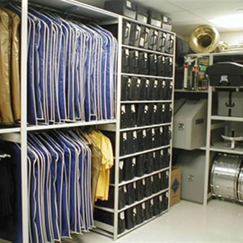 Music library storage of instruments