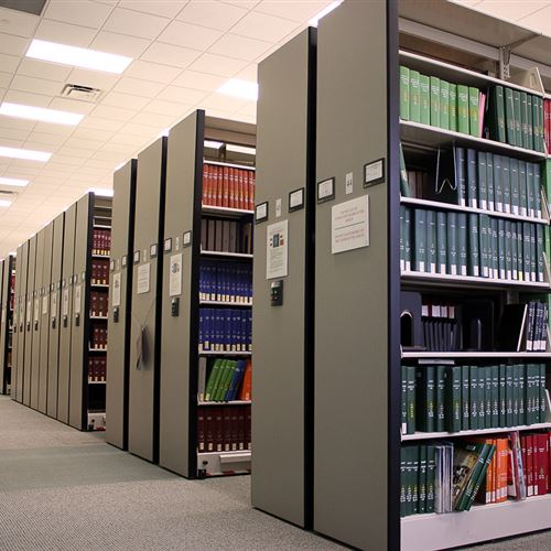 University of Miami Library Storage