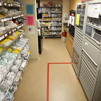 Medical Supply Storage - Wyoming Medical Center