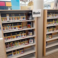 Music and Media Storage on Cantilever Shelving