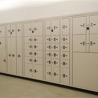 Evidence Storage Lockers at Franklin Police Department