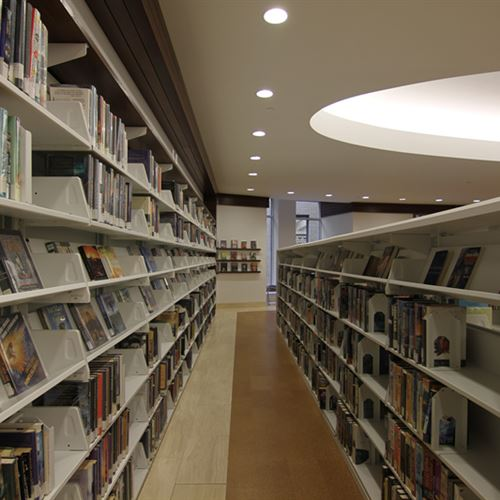 Cantilever Shelving at St. Louis Public Library