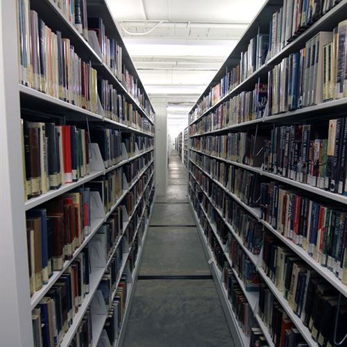 St. Louis Library Collection in High-Density Shelving