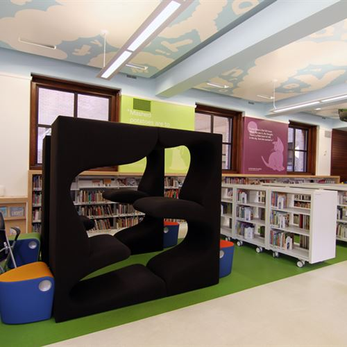 tags st louis mo st louis public library static shelving cantilever ...
