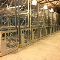 ActivRAC 7P with Sliding doors and Wire Enclosures.