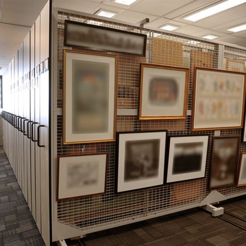 High Density Mobile Art Storage in Toronto Ontario