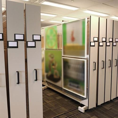 Archive Storage Made Easy With Art Racks and Mobile Storage System