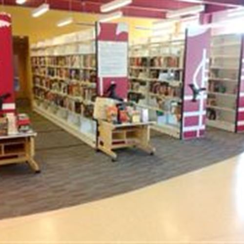 Mobile Shelving at Dover Public Library