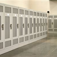 Custom Military Storage Lockers - North Carolina National Guard