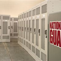 Personal Duty Lockers for the National Guard