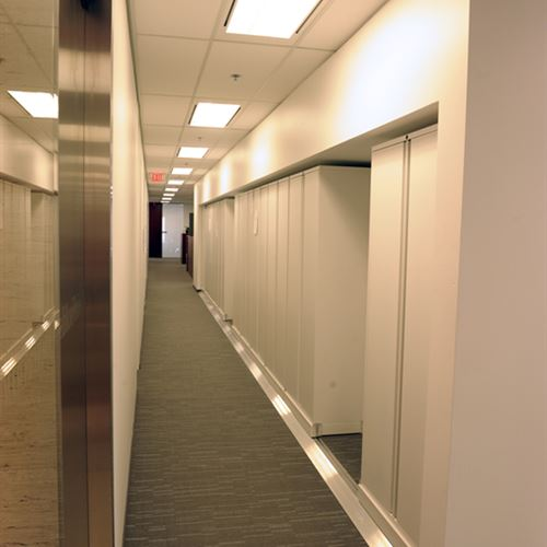 Lateral Bi File Storage for Toronto Law Firm