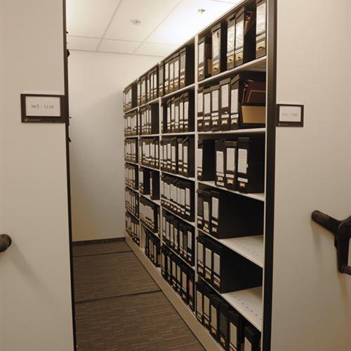 High Density Mobile system for Legal File Storage