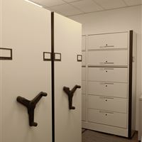 Mobile Shelving for Office Filing and Storage