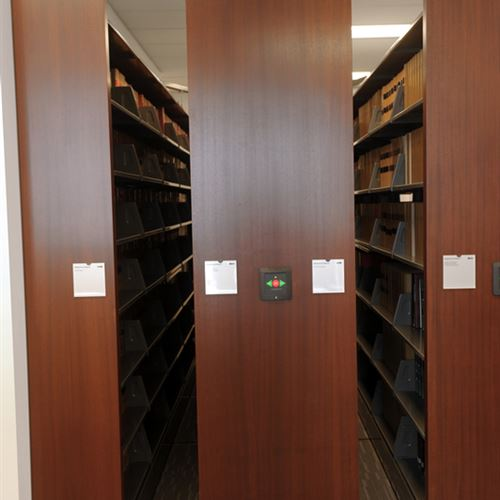 Powered Mobile Storage System for Law Library