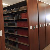 Law Firm Library stored on High-Density Mobile