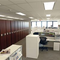 Collaborative Law Firm with Compact Storage System